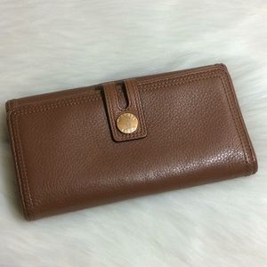 Michael Kors Brown leather bifold wallet W819F